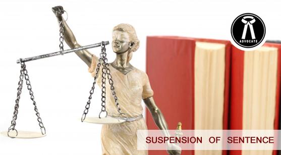 Suspension of Sentence in Criminal Case